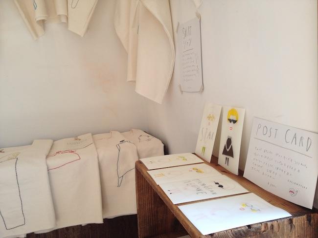 絵本とシャツと mabo個展