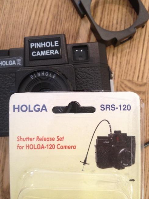 HOLGA SRS120 シャッターレリーズセット