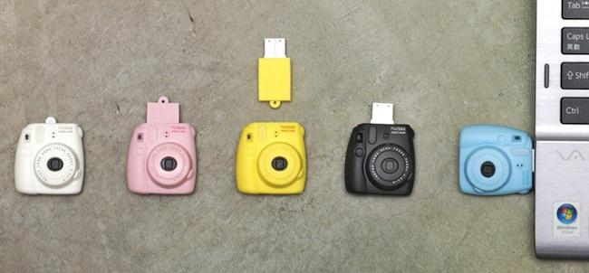 インスタントカメラ型USBメモリー