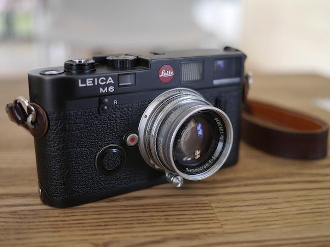 ズミクロン(SUMMICRON) 50mm f2