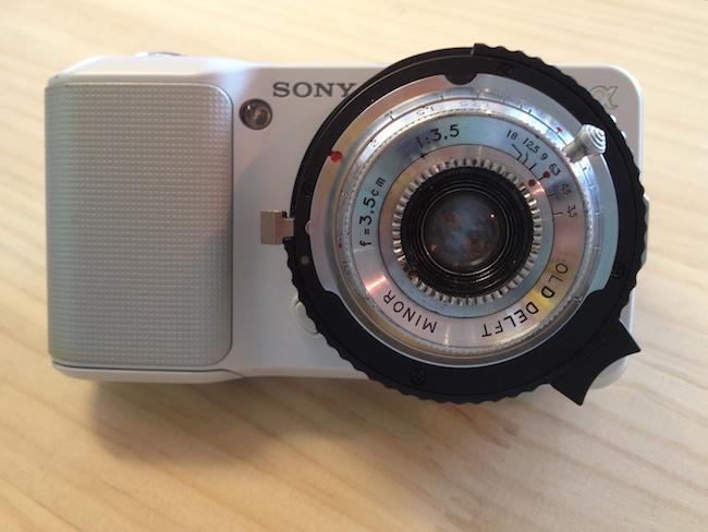 OLD DELFT MINOR 35mm F3.5