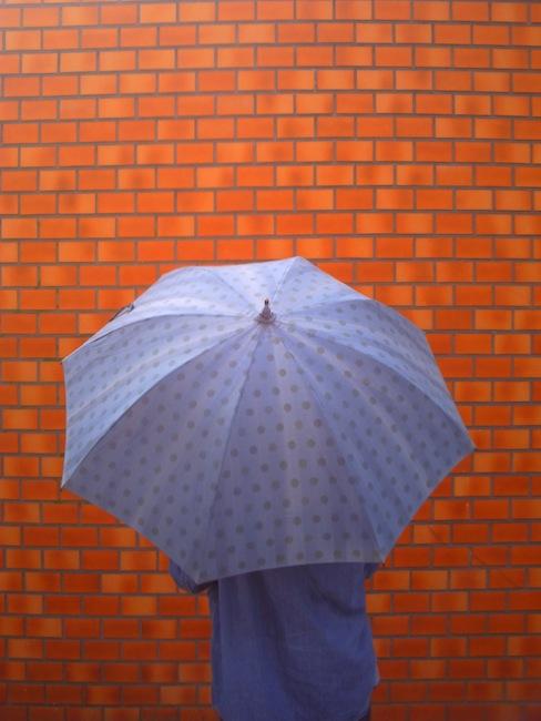 日傘。ツマー。