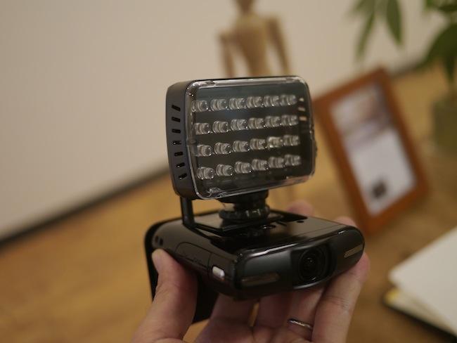 iVIS miniとミニLEDライト24